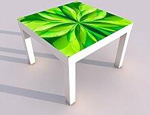 Design - Tisch mit UV Druck 55x55cm 3D Effekt