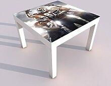 Design - Tisch mit UV Druck 55x55cm American