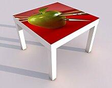 Design - Tisch mit UV Druck 55x55cm Sport