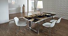 Design-Tisch / Schreibtisch / hochwertige Tischplatte / Esstisch / Arbeitstisch / Bürotisch / Renaissance / DIY / in zwei Größen erhältlich / ab 149 Euro / Über 50% Aktionsrabatt (Mit Tischuntergestell Edelstahl, 180x90 cm)