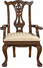 Design Toscano Amors Bogen, Chippendale-Stühle: Sessel