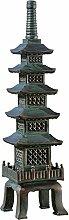 Design Toscano Asiatische Pagodenstatue The Nara Temple für den Garten