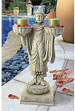 Design Toscano Avalokitesvara Buddha, Gartenfigur