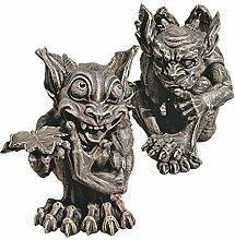 Design Toscano Babble und Whisper, die gotischen Gargoyles, Figuren