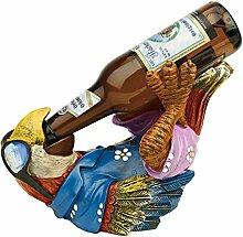 Design Toscano Bierkumpel, Tiki-Papageienfigur