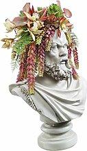 Design Toscano Büste Gründer der Antike: Der Philosoph Sokrates