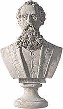 Design Toscano Charles Dickens-Büste