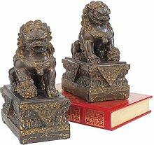 Design Toscano Chinesische Wächterlöwenhunde, Figuren