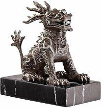 Design Toscano Chinesischer Wachlöwe, Skulptur