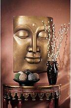Design Toscano Der gelassene Buddha, Großes Wandfries