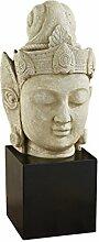 Design Toscano Die asiatische Göttin Yuan-Yin, Skulpturale Büste
