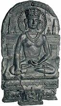 Design Toscano Erdenzeuge Buddha, Skulpturales Wandfries
