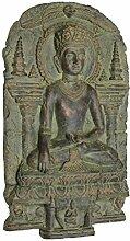 Design Toscano Erdenzeuge Buddha, Wandskulptur (c. 900-1200 A.D.)