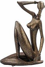 Design Toscano Figur Aroused: Nude Woman Statue, beige