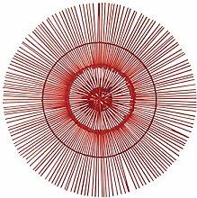 Design Toscano Figur Kele 19 Inch Red Wall Burst, beige