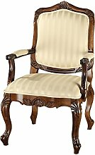 Design Toscano Figur St. Enimie Fauteuil Masters Chair, beige
