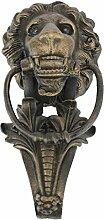 Design Toscano Florentinischer Löwe, Türklopfer aus Eisen