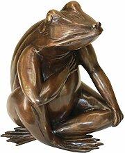 Design Toscano Für immer in meinem Herzen: Gartenfigur aus Bronzeguss
