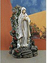 Design Toscano Garten-Skulptur Jungfrau Maria,