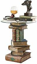 Design Toscano Gestapelte Bücher Vintage-Dekor