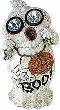 Design Toscano Halloween Statue von Gespenst, Visions Solar Garten Ghos