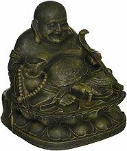 Design Toscano Heiligtum des Lachenden Buddha, Statue