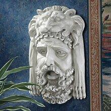 Design Toscano Herkules-Büste mit nemeischem