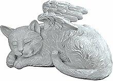 Design Toscano Katzenengel, Grabfigur