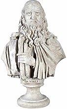 Design Toscano Leonardo da Vinci, Große Büste
