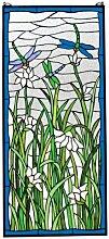 Design Toscano Libellentanz, Bleiglasfenster
