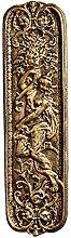 Design Toscano Magd, Türschild aus Eisen