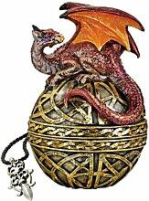Design Toscano Schild der keltischen Himmelskugel,