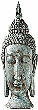 Design Toscano Sukhothai Buddha, Asiatische skulpturale Büste für den Garten