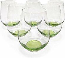 Design Trinkglas, O-Glas, Weinglas, Wasserglas,