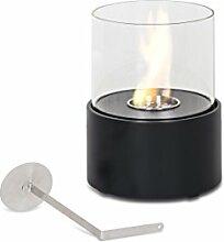 Design Twist Duecilindri Bioethanol-Kamin Metall