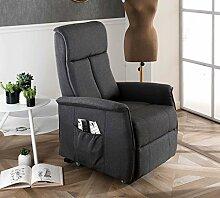 Design Twist Morgana Sessel Aufstehhilfe, Leinen,