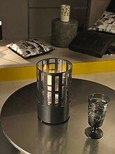Design Twist Tischkamin 0.4 L schwarz