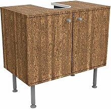 Design Vanity amburana 60x 55x 35cm, klein,