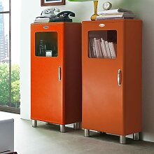 Design Vitrine  in Orange Retro