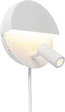Design Wandlampe weiß inkl. LED - Marion