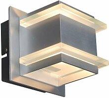 Design Wandleuchte Aluminium - Block