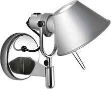 Design Wandleuchte Aluminium - Tolomeo faretto