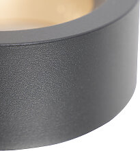 Design Wandleuchte anthrazit inkl. LED - Vasso uno