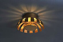 Design Wandleuchte Gold 12W 230V Wandlampe aus