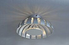 Design Wandleuchte in silber 10W 230V Wandlampe
