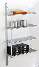 Design Wandregal Büroregal Anbau-Element Theo