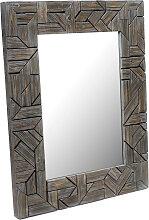 Design Wandspiegel Holz