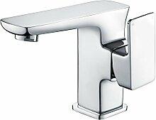 Design Waschtischarmatur Waschbecken Waschtisch Armatur Wasserhahn Einhebelmischer Mischbatterie Bad Waschbeckenarmatur Badarmatur Chrom