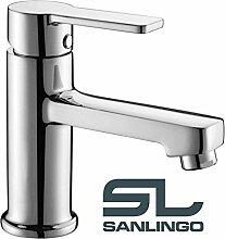 Design Wasserhahn Armatur Kaltwasser 1/2' für einen Wasseranschluss Bad Kran von Sanlingo