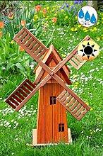 Design-Windmühle, mit KUPFER-METALLIC-FLÜGEL,